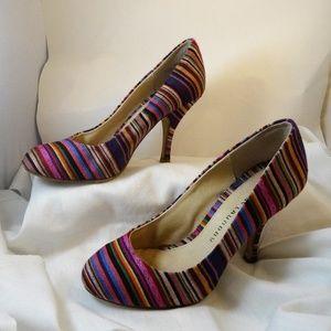 ⭐ChineseLaundry Rainbow PRIDE Round Toe Heel